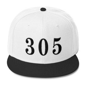 White 305 Snapback