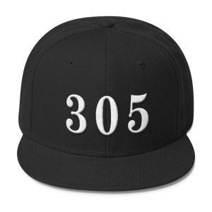 Black 305 Snapback
