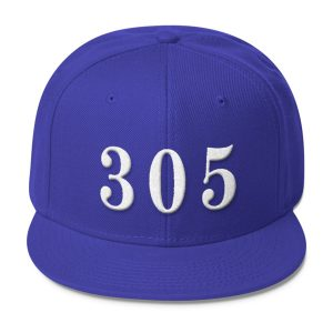 Blue 305 Snapback