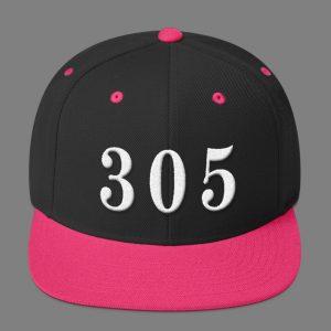 Pink 305 Snapback