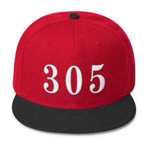Red 305 Snapback