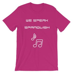 We Speak Spanglish Unisex Tee